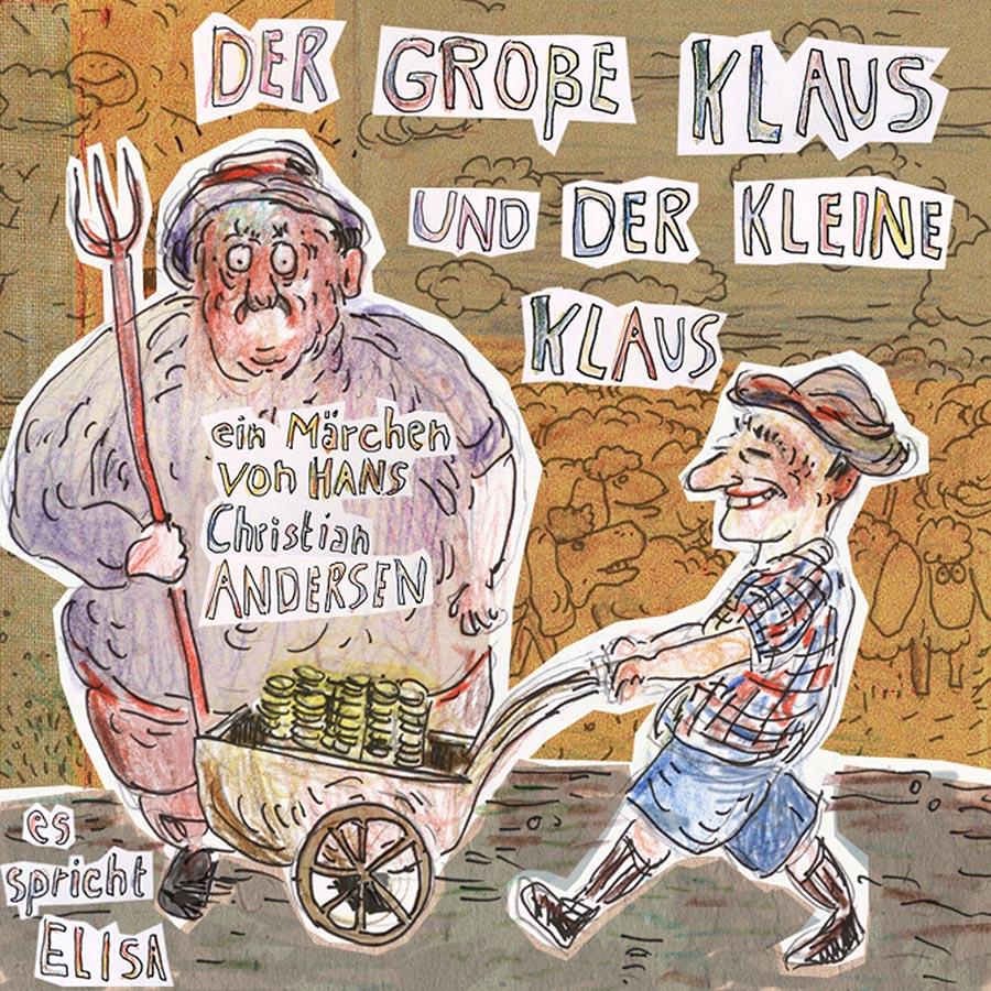Elisa Demonkí Hans Christian-Andersen Der Große grosse Klaus-Und-Der-Kleine-Klaus-Jalara-Verlag Demonki mp3 hoerbuch