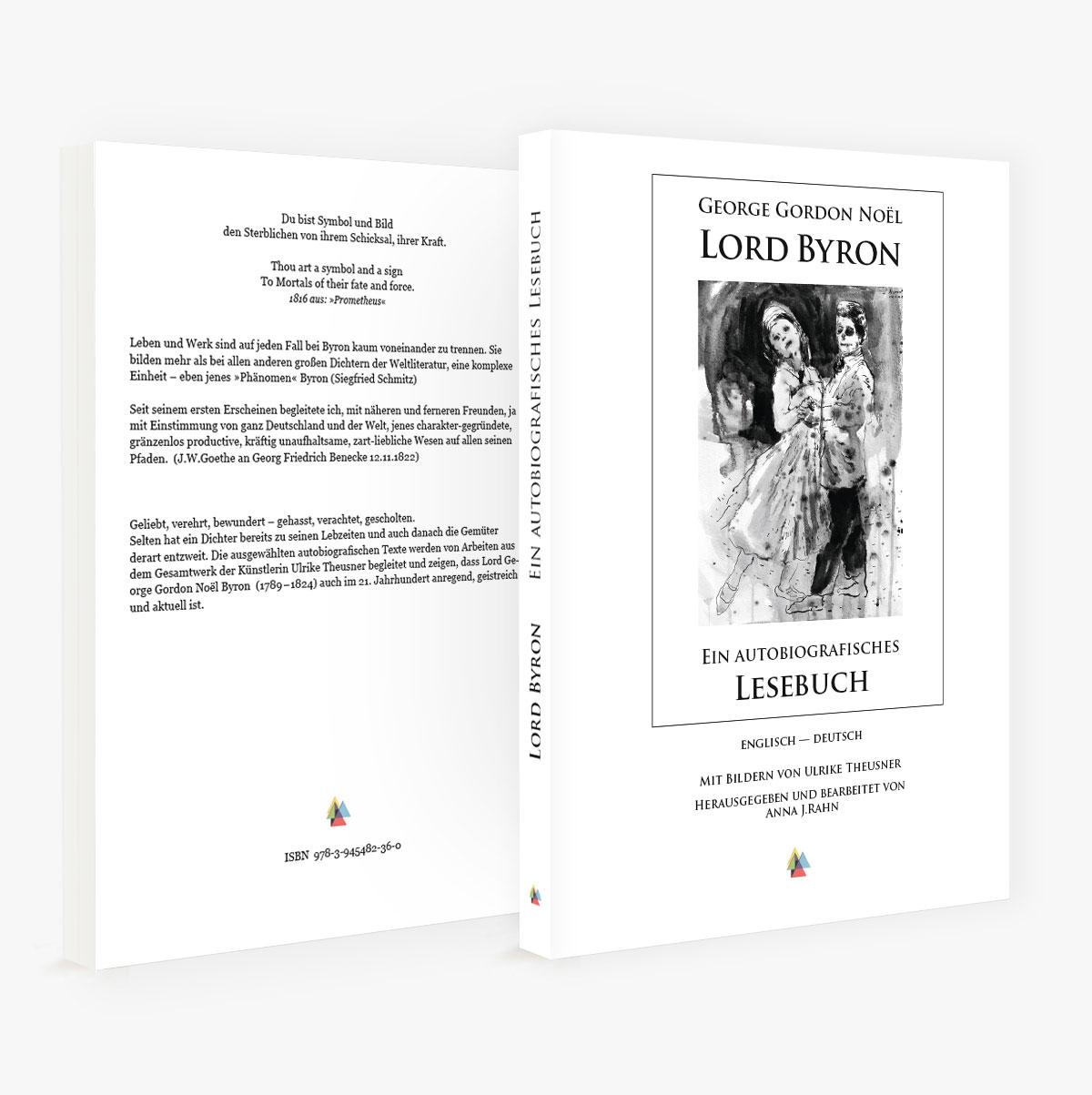 »Lord Byron« – Ein Autobiografisches Lesebuch (Englisch – Deutsch)
