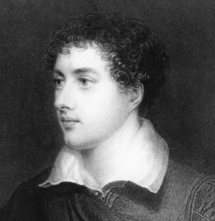 »Lord Byron« - Ein Autobiografisches Lesebuch (Englisch - Deutsch) von Anna J. Rahn mit Bildern von Ulrike Theusner