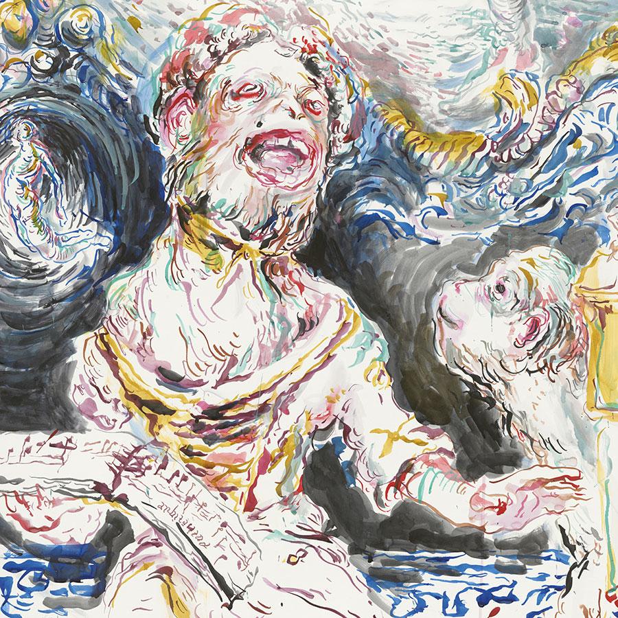Aus der Broschüre »Der Werdegang eines Wüstlings« von Ulrike Theusner